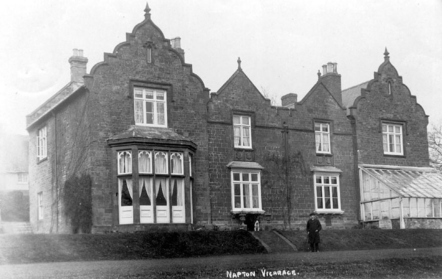 Napton Vicarage, Vicarage Road.  1910s |  IMAGE LOCATION: (Warwickshire County Record Office)