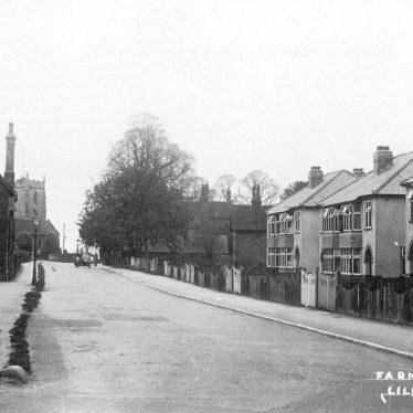 Lillington.  Farm Road