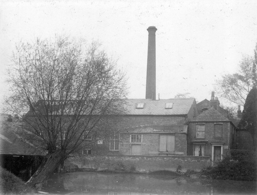 The Old Mill, Leamington Spa.  1880s |  IMAGE LOCATION: (Leamington Library)