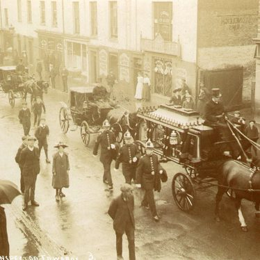 Leamington Spa.  Funeral of Inspector Edwards