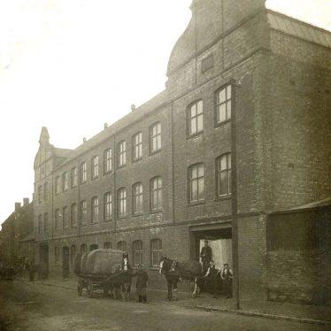 Bedworth.  Luckman & Pickering's Hat Factory