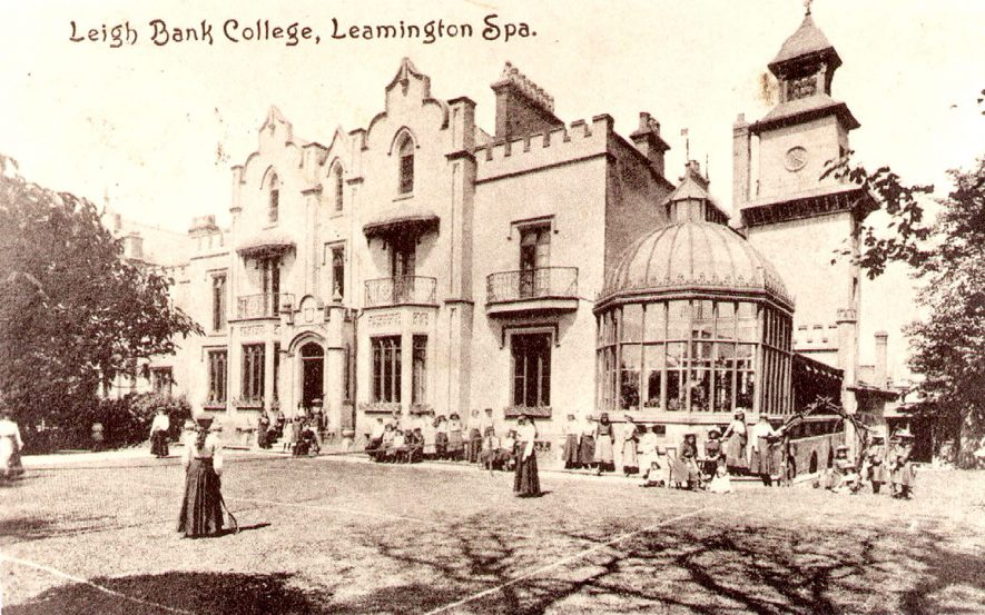 Leigh Bank College, Upper Holly Walk, Leamington Spa.  1900s |  IMAGE LOCATION: (Leamington Library)