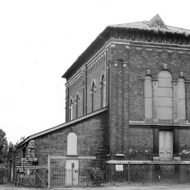 Leamington Spa.  Princes Drive, sewage pump station