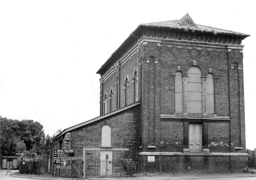 Sewage Pumping House, Princes Drive, Leamington Spa.  1985 |  IMAGE LOCATION: (Leamington Library)