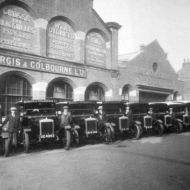 Leamington Spa.  Burgis & Colbourne