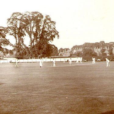 Leamington Spa.  Lillington Avenue cricket ground