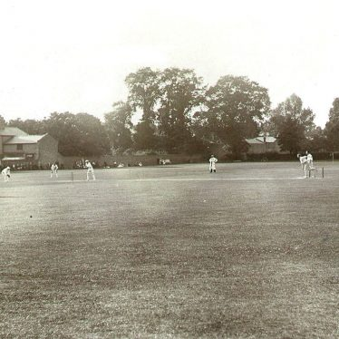 Leamington Spa.  Lillington Avenue cricket ground