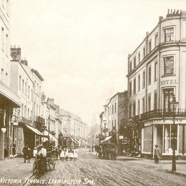 Leamington Spa.  Bath Street