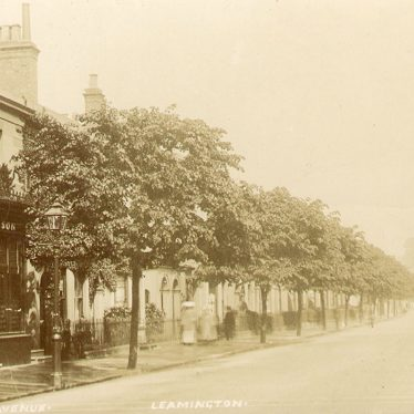 Leamington Spa.  Clarendon Avenue