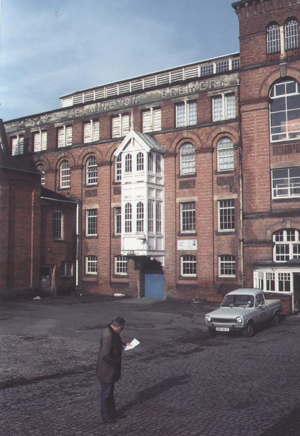 Leamington Brewery, (ex W.D.C. Depot) Lillington Avenue, Leamington Spa.  1985