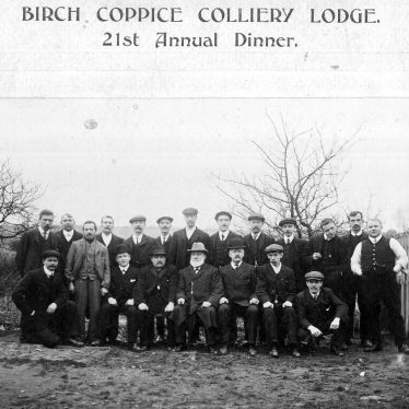 Hall End.  Birch Coppice Colliery Lodge