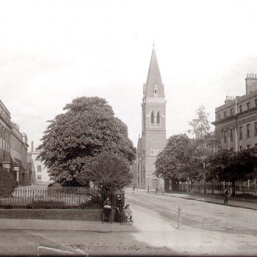 Leamington Spa.  Warwick Street, St Alban's Church
