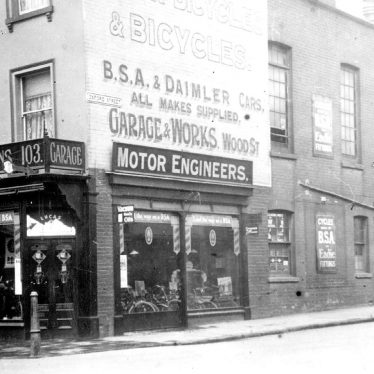 Leamington Spa.  Warwick Street, E.H. Bissell & Sons