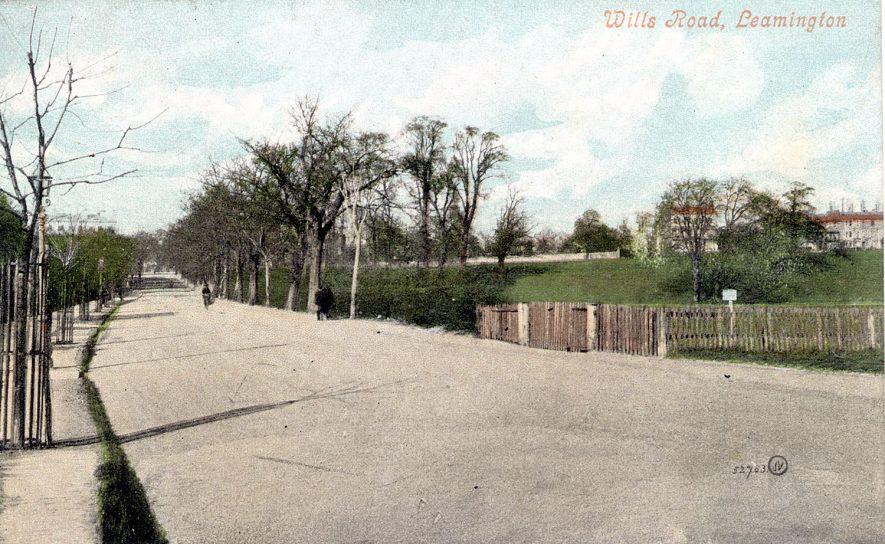 Willes Road, Leamington Spa.  1900s |  IMAGE LOCATION: (Leamington Library)