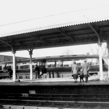 Leamington Spa.  Railway Station