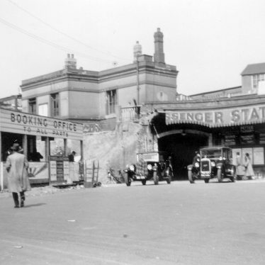 Leamington Spa.  Railway Station
