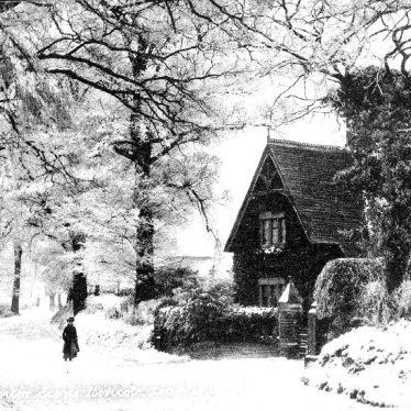 Leamington Spa.  Snow scene at Bericote