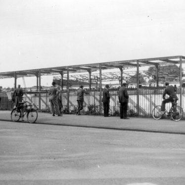 Leamington Spa.  Railway Station, alterations in progress