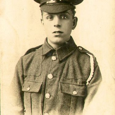 Leamington Spa.  Pte. Frederick Batchelor