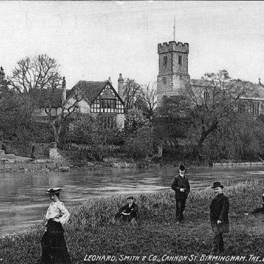 Bidford on Avon. River Avon