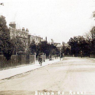 Rugby.  Bilton Road