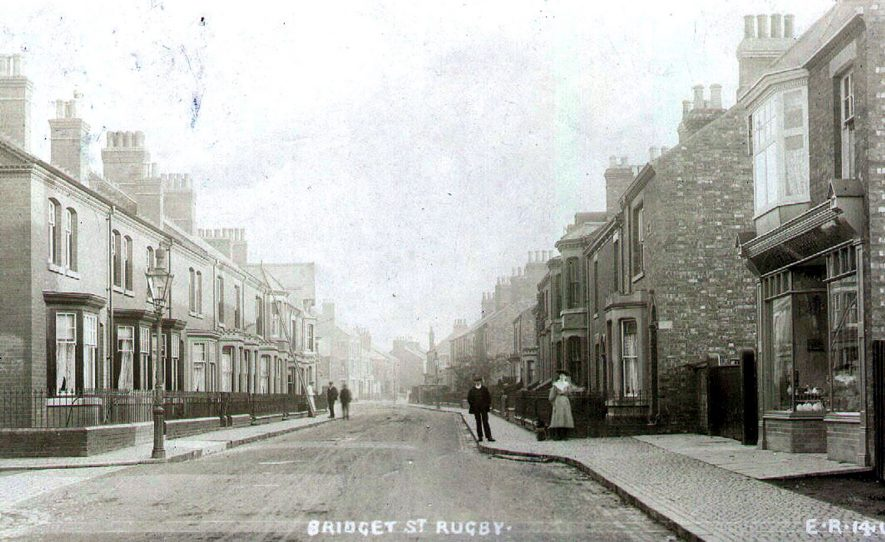 Bridget Street, Rugby.  1907    IMAGE LOCATION: (Rugby Library)