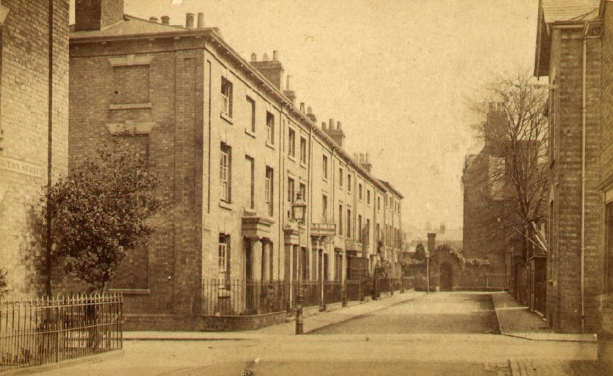 Elborow Street, Rugby.  1890s |  IMAGE LOCATION: (Rugby Library)