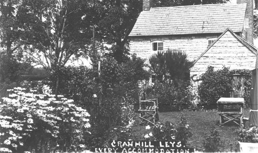 Cranhill Leys guest house, Bidford on Avon.  1930s |  IMAGE LOCATION: (Warwickshire County Record Office)
