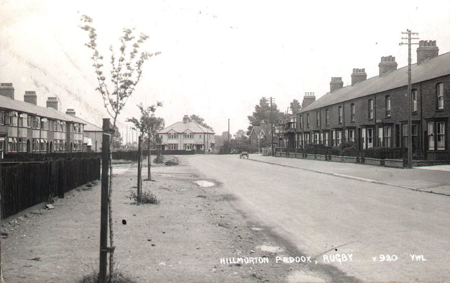Hillmorton Road, Rugby.  1930 |  IMAGE LOCATION: (Rugby Library)