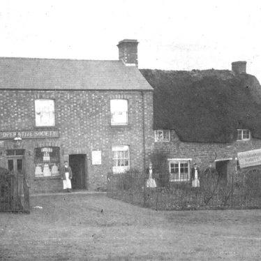 Napton on the Hill.  Co-operative Society Shop
