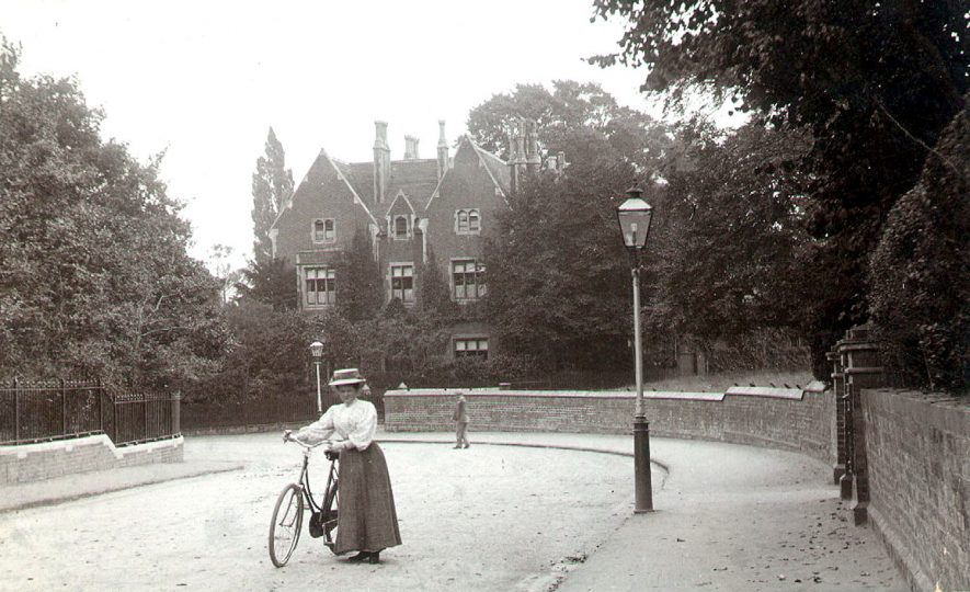 View of Newbold Road showing