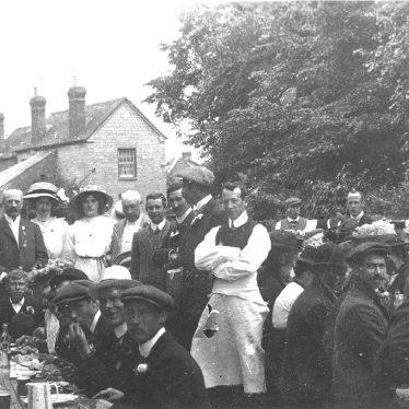 Bidford on Avon.  Coronation celebrations