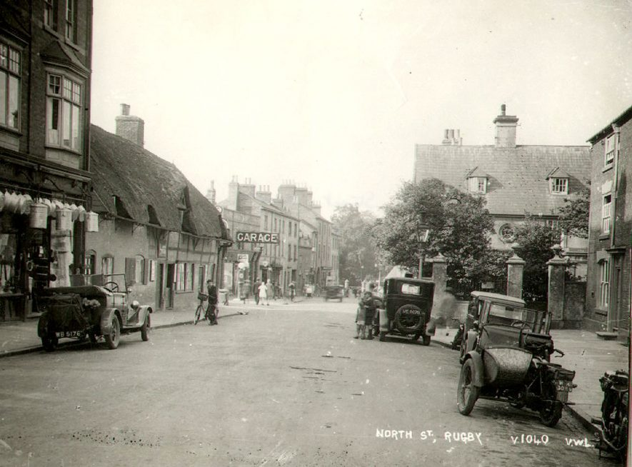 North Street, Rugby.  1929 |  IMAGE LOCATION: (Rugby Library)