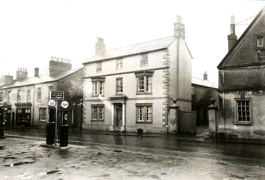 Hilton's Garage,  North Street, Rugby.  1929  Photograph supplied by kind permission of the Rugby Advertiser. |  IMAGE LOCATION: (Rugby Library)