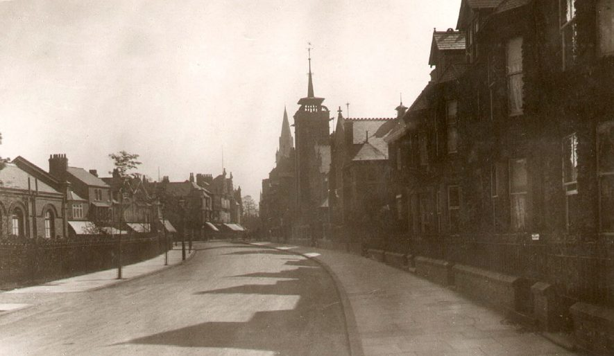 Regent Place was called St Andrew's Street from 1903 until 1925.  1916 |  IMAGE LOCATION: (Rugby Library)