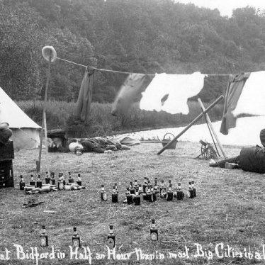 Bidford on Avon.  Camping