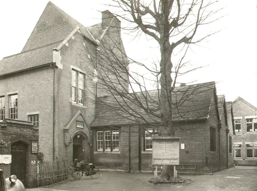 Rugby Borough Library.  1955 |  IMAGE LOCATION: (Rugby Library)