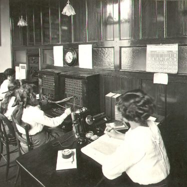 Rugby.  B.T.H. telephone exchange