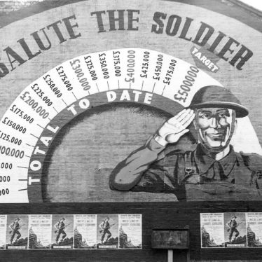 "Rugby.  ""Salute the Soldier"" campaign"