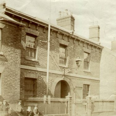 Rugby.  Plowman Street, Old Police Station