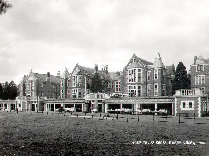 St Cross Hospital, Rugby.  1934 |  IMAGE LOCATION: (Rugby Library)