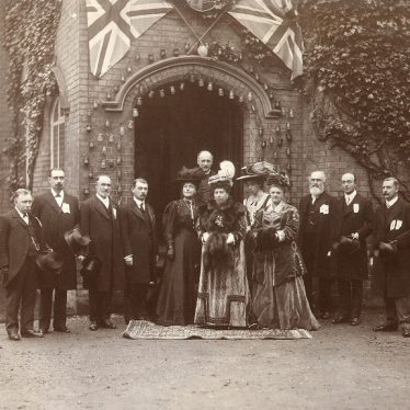 Rugby.  Visit by Princess Henry of Battenberg