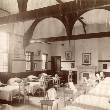 Rugby School.  Cotton House dormitory