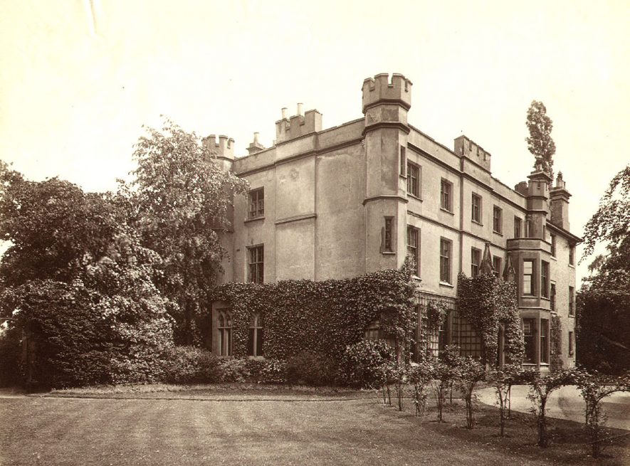 Bradley House, Rugby School. Built in 1830 the house is situated at 5 Barby Road, Rugby. A list of housemasters can be seen in the Rugby School register 1911 - 1946, p.xxvii.  1860s |  IMAGE LOCATION: (Rugby Library)