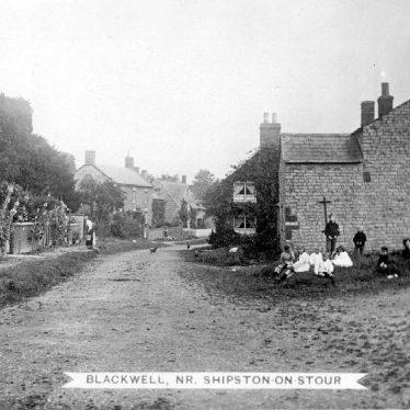 Blackwell.  Village street