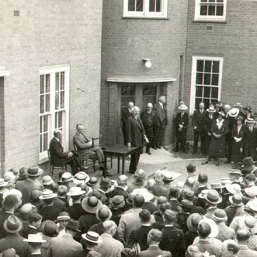 Rugby.  Rugby School sanatorium, opening