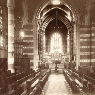 Rugby School.  Chapel interior