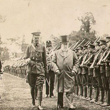 Rugby.  Visit of King Edward VII