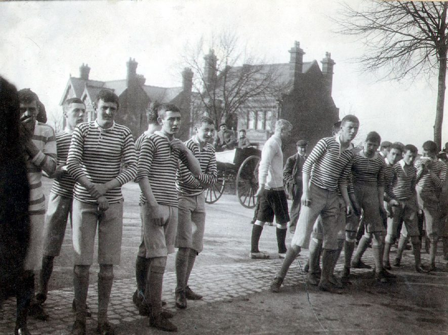 Rugby School Sports in early 1900s. |  IMAGE LOCATION: (Rugby Library)