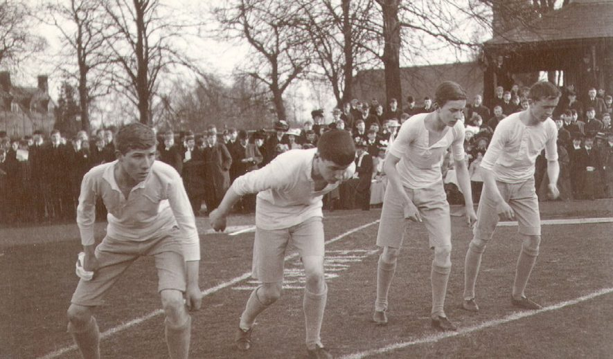 Rugby School Sports.  1908 |  IMAGE LOCATION: (Rugby Library)